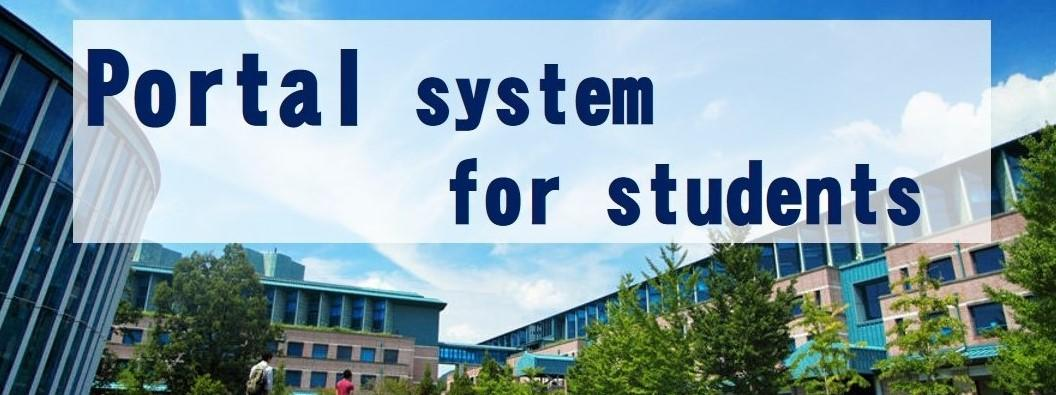 Portal system for students